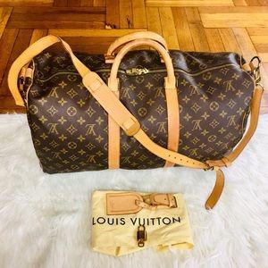 😍✈️ Louis Vuitton Bandoulier 50 Travel Bag